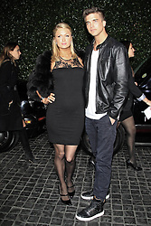 Paris Hilton and River Viiperi attend the Topshop Topman LA flagship store opening party at Cecconi s Restaurant, Los Angeles, US, February 13, 2013. Photo by Imago / i-Images...UK ONLY