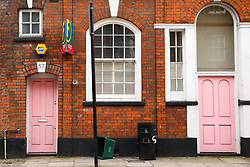 © Licensed to London News Pictures. 23/12/2019. London, UK. Radio presenter and Love Island host CAROLINE FLACK'S  flat in Islington, North London where she was arrested and charged following an alleged row with her boyfriend LEWIS BURTON on 12 December. Early today she pleaded not guilty at Highbury Corner Magistrates' Court and will appear before a Crown Court in March for a jury trail. Photo credit: Dinendra Haria/LNP