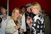 IWONA BLAZWICK; LOUISA BUCK; RICHARD STRANGE, The Hayward Gallery 40th birthday Gala. hayward Gallery. South Bank. 9 July 2008 *** Local Caption *** -DO NOT ARCHIVE-© Copyright Photograph by Dafydd Jones. 248 Clapham Rd. London SW9 0PZ. Tel 0207 820 0771. www.dafjones.com.