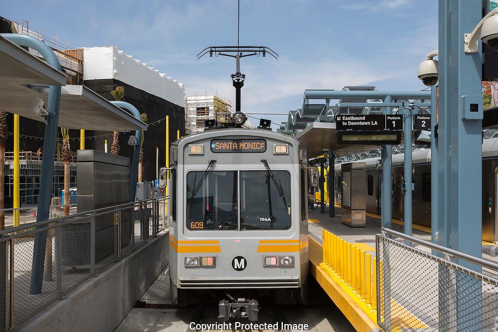 Expo Line artist tour. Culver City Station to Santa Monica.