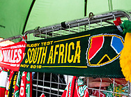 A Flag showing South Africa<br /> <br /> Photographer Simon King/Replay Images<br /> <br /> Under Armour Series - Wales v South Africa - Saturday 24th November 2018 - Principality Stadium - Cardiff<br /> <br /> World Copyright &copy; Replay Images . All rights reserved. info@replayimages.co.uk - http://replayimages.co.uk