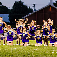 09-03-15 Berryville Jr. High Cheerleaders vs. Mt. Home