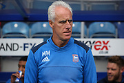 Mick McCarthy (manager) of Ipswich Town before the EFL Sky Bet Championship match between Queens Park Rangers and Ipswich Town at the Loftus Road Stadium, London, England on 9 September 2017. Photo by Alfred Oshodi.