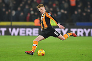Hull City midfielder Sam Clucas (11)  during the EFL Cup semi final match 2 between Hull City and Manchester United at the KCOM Stadium, Kingston upon Hull, England on 26 January 2017. Photo by Ian Lyall.