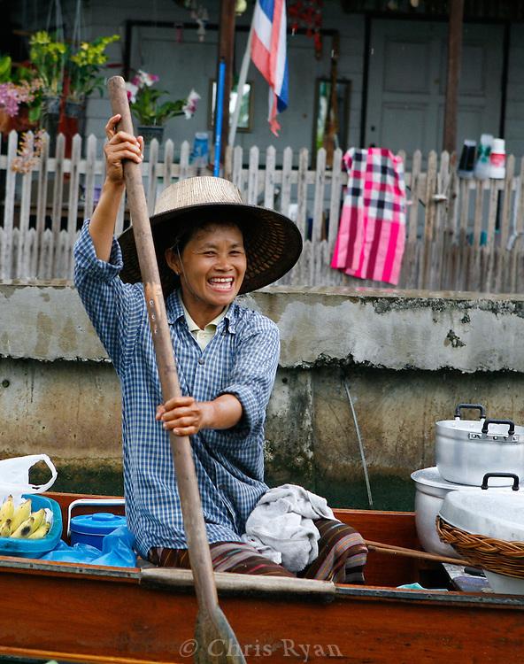 Thonburi canals