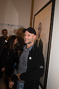CLAUDIO RASANO, Private view of the Taylor Wessing Portrait prize, National Portrait Gallery, London.  15 November 2016
