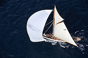 Classic sailing yacht ÒMOONBEAM OF FIFE IIIÓ is certainly one of the most successful beyond the Classic Yachts world. The story of the Moonbeams began in 1858 with Moonbeam I &II. In 1902 Charles Plumtree Johnson, an eminent London lawyer, decided to go back to William Fife for the creation of his 3rd yacht taking into account his navigation projects as he wanted to race under the new RORC tonnage which included sailing ships with fitted-out interiors. Moonbeam III was launched in 1903, hull n¡ 491 to leave the Fife yard. The result was a magnificent yacht which has now become one of the most successful classic yachts in the world. Her streamlined shape and large sail surface area both make for an extremely elegant and unique yacht..Construction...Year built / refit :  .1903.Builder :  .Fairlie, Scotland.Naval architect :  .William Fife.Flag :  .France.Location :  .St Tropez, France..Main characteristics.Type :  .Classic Yacht.Model :  .Gaff Cutter.Length :  .31 m.Beam :  .4.72 m.Draft :  .3.65 m.Material :  .Wood.Engine :  .135 CV Perkins de 2004 ? 2,260 heures en Janvier 2011.Speed :  .7.Range :  .260 nm.Generator :  .10 KW Fisher Panda - d'occasion ? partir 2008 - 700 heures en Janvier 2011.Fuel capacity :  .450 L.Water capacity :  .800 L.Accommodation : ...Cabins :  .2 Doubles.Crew :  .2