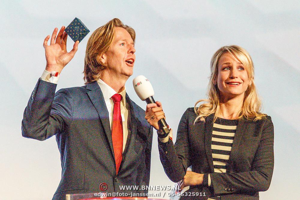NLD/Hilversum/20160110 - NOS Journaal bestaat60 jaar en viert dit met Festival van het Nieuws, Jan de Jong en Dionne Stax
