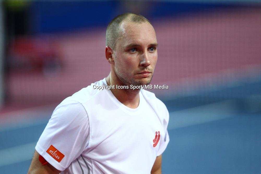 STEVE DARCIS - 06.02.2015 - Tennis - Open Sud de France- Montpellier<br /> Photo : Andre Delon / Icon Sport
