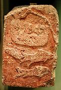 Reliefs from Tell Halaf. The cuneiform inscription seen on the reliefs records, 'Palace of Kapara, son of Hadianu'.