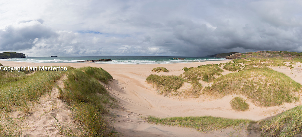 Sandwood Bay in Sutherland , Highland Region, Scotland United Kingdom