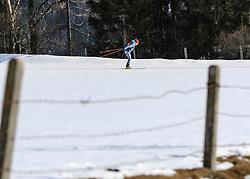 22.03.2018, Ramsau am Dachstein, AUT, Red Bull Der lange Weg, Überquerung Alpenhauptkamm, längste Skitour der Welt, im Bild Philipp Reiter (GER) // Philipp Reiter of Germany during the Red Bull Der lange Weg, crossing of the main ridge of the Alps, longest ski tour of the world, in Ramsau am Dachstein, Austria on 2018/03/22. EXPA Pictures © 2018, PhotoCredit: EXPA/ Martin Huber