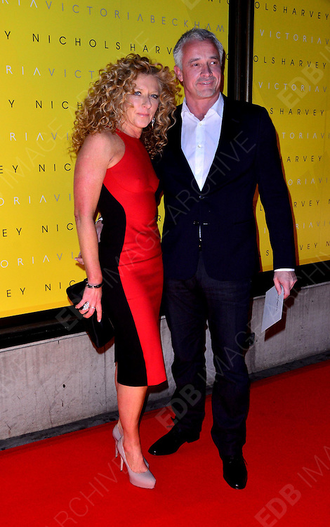 17.FEBRUARY.2012. LONDON<br /> <br /> KELLY HOPPEN AT THE LAUNCH OF THE VICTORIA BECKHAM'S NEW FASHION LINE 'VICTORIA' AT HARVEY NICHOLS IN LONDON<br /> <br /> BYLINE: EDBIMAGEARCHIVE.COM<br /> <br /> *THIS IMAGE IS STRICTLY FOR UK NEWSPAPERS AND MAGAZINES ONLY*<br /> *FOR WORLD WIDE SALES AND WEB USE PLEASE CONTACT EDBIMAGEARCHIVE - 0208 954 5968*