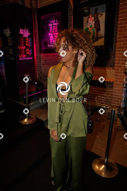 AMSTERDAM - In club Panama zijn de Elle Style Awards 2017 gehouden. Met hier op de rode loper Veronica van Hoogdalem. FOTO LEVIN & PAUL PHOTOGRAPHY VOF