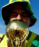 Brazil supporter <br /> Moscow 27-06-2018 Football FIFA World Cup Russia  2018 <br /> Serbia - Brazil / Serbia - Brasile<br /> Foto Matteo Ciambelli/Insidefoto