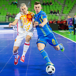 20180206: SLO, Futsal - UEFA Futsal Euro 2018 Quarterfinals, Ukraine vs Spain
