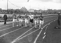 H914 Aonach Tailteann Athletics - Croke Park. Start of race. 1928. (Part of the Independent Newspapers Ireland/NLI Collection)