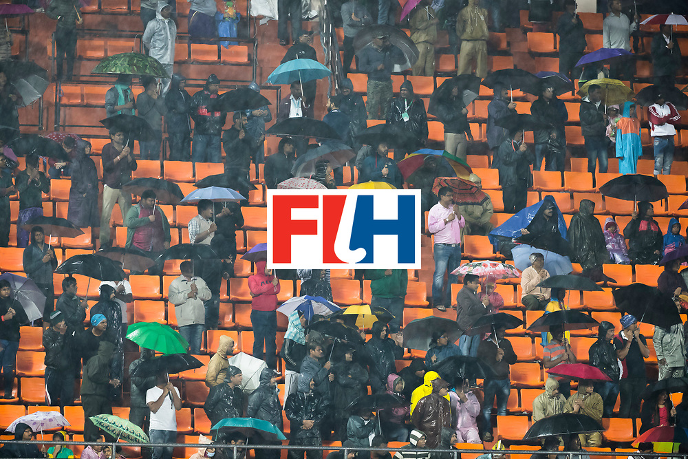 BHUBANESWAR -  Hockey World League finals , Semi Final . Argentina v India.  public on the stands. COPYRIGHT KOEN SUYK