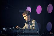 Thomas Bangalter of Daft Punk, Djing, Creamfields, UK, 1998