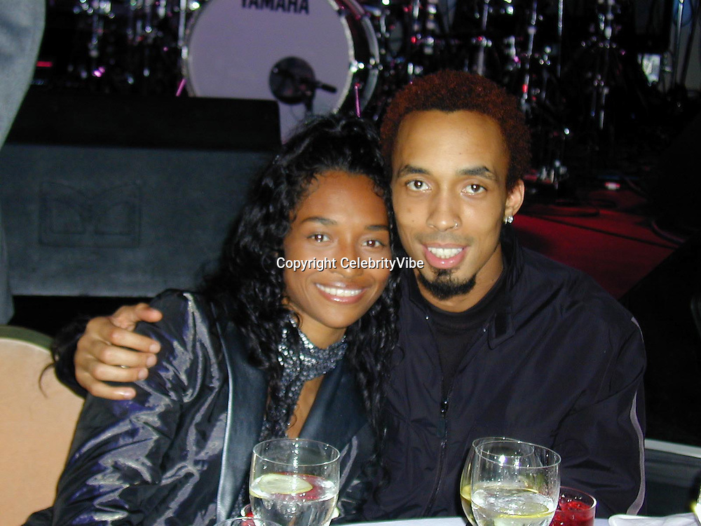 Chilli of TLC and boyfriend Dallas Austin<br />