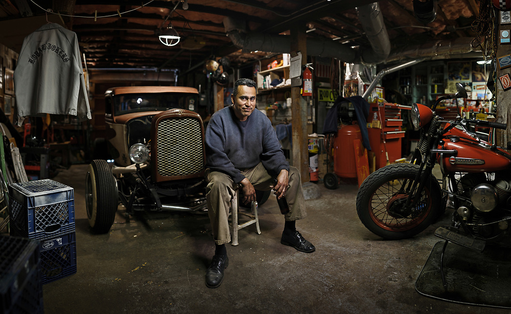 Jose Mejia of the Royal Jokers Car Club, San Francisco, CA | Autocult Magazine
