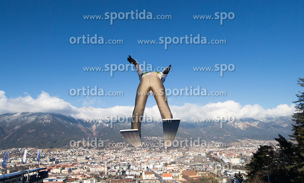 03.01.2017, Bergiselschanze, Innsbruck, AUT, FIS Weltcup Ski Sprung, Vierschanzentournee, Innsbruck, Training, im Bild Kamil Stoch (POL) // Kamil Stoch of Poland during his Practice Jump for the Four Hills Tournament of FIS Ski Jumping World Cup at the Bergiselschanze in Innsbruck, Austria on 2017/01/03. EXPA Pictures © 2017, PhotoCredit: EXPA/ Jakob Gruber