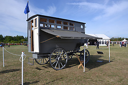 HORSE DRAWN BELGIUM ARMY STAFF COMMAND VEHICLE, Centenary of Passchendaele 100 years, 1st August 2017