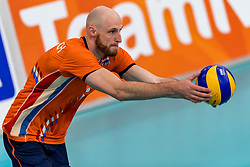 08-09-2018 NED: Netherlands - Argentina, Ede<br /> Second match of Gelderland Cup / Jasper Diefenbach #6 of Netherlands