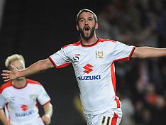 MK Dons-Man Utd Capital One Cup 26/8/14