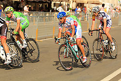 Napoli, Italy - Giro d'Italia - May 4, 2013 - Rider with Bianchi bike