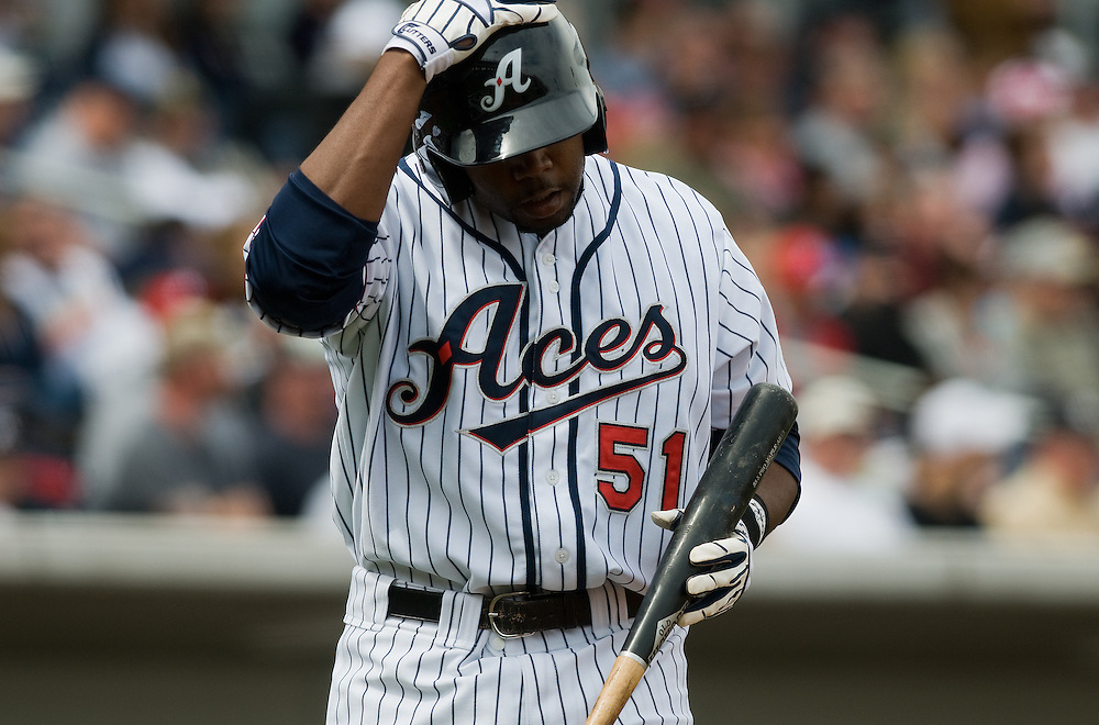 Images from the Reno Aces vs. the Fresno Grizzlies at Aces Ballpark in Downtown Reno, Sunday, April 11, 2010. ..Photo by David Calvert/Reno Aces