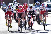 BAK Lars Ytting (DEN), KRISTOFF Alexander (NOR), BYSTROM Sven Erik (NOR),  DEVOLDER Stijn (BEL), DE BIE Sean (BEL), DEBUSSCHERE Jens (BEL) during the 3 Days de Panne 2015, Stage 1, De Panne - Zottegem (201,6Km), in Belgium, on March 31, 2015. Photo Tim de Waele / DPPI