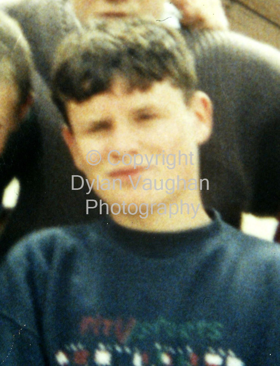 1/11/2002 .Jamie Lonergan from Clonmel who has been locally named as the being the man found dead in Clonmel County Tipperary.Gardai have yet to formally identify the body..Picture Dylan Vaughan