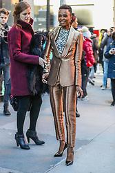 December 12, 2019, New York, NEW YORK, ESTADOS UNIDOS: Miss Universe, Zozibini Tunzi is seen on Manhattan Island in New York this Thursday, December 12 (Credit Image: © Vanessa Carvalho/ZUMA Wire)
