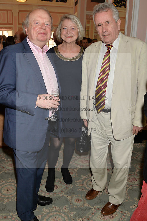 Left to right, JOHN SERGEANT, KATE ADIE and MARTIN BELL at the Oldie Magazine's Oldie of The Year Awards held at Simpson's In The Strand, London on 4th February 2014.