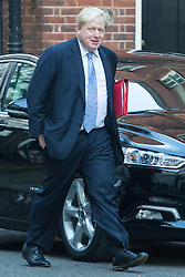 Downing Street, London, January 17th 2017. Foreign and Commonwealth Secretary Boris Johnson arrives at the weekly cabinet meeting at 10 Downing Street.