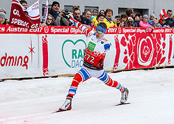 23.03.2017, Ramsau am Dachstein, AUT, Special Olympics 2017, Wintergames, Langlauf, Finale 500 m Freestyle, im Bild Vitalii Antonov (RUS) // Vitalii Antonov of Russia during the Cross Country Final 500 m Freestyle at the Special Olympics World Winter Games Austria 2017 in Ramsau am Dachstein, Austria on 2017/03/23. EXPA Pictures © 2017, PhotoCredit: EXPA / Martin Huber