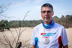 18-03-2018 NED: We hike to change diabetes, Soest<br /> Training voor de Camino 2018 op de Soesterduinen / Andre