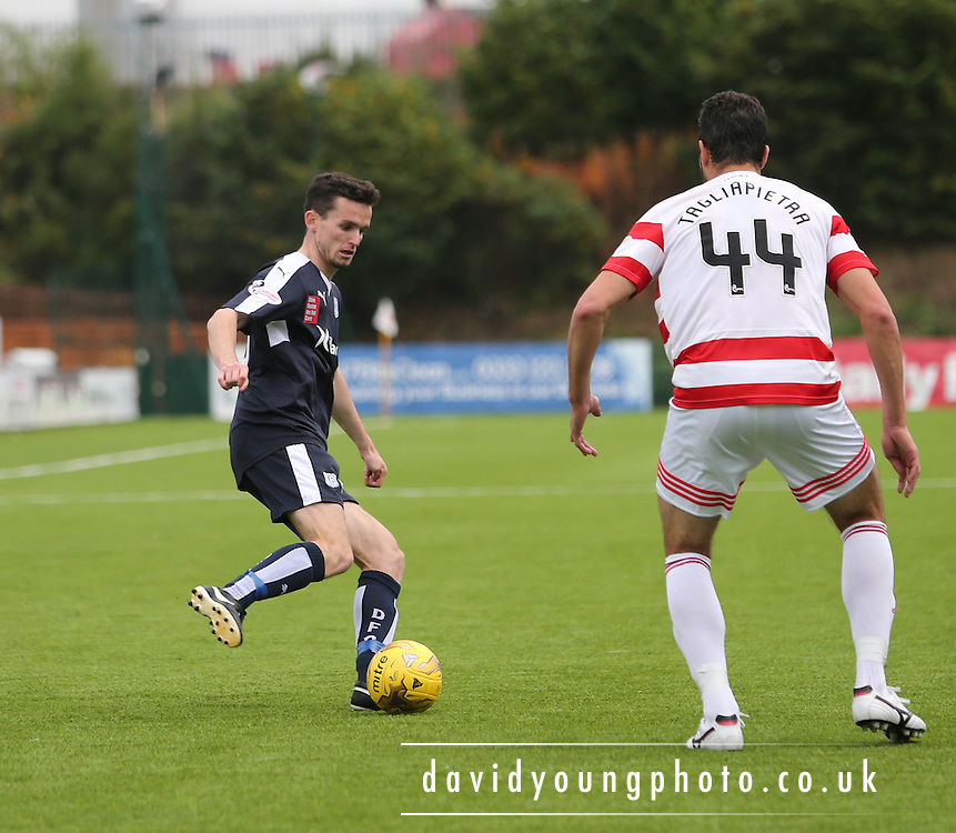 Dundee&rsquo;s Paul McGinn - Hamilton Academical v Dundee, Ladbrokes Premiership at New Douglas Park<br /> <br /> <br />  - &copy; David Young - www.davidyoungphoto.co.uk - email: davidyoungphoto@gmail.com
