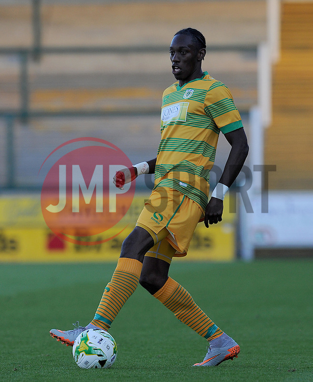 Yeovil Town's Nathan Smith - Photo mandatory by-line: Harry Trump/JMP - Mobile: 07966 386802 - 30/07/15 - SPORT - FOOTBALL - Pre Season Fixture - Yeovil Town v Bristol City - Huish Park, Yeovil, England.