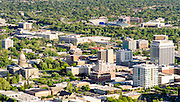 Aerial view of downtown Boise