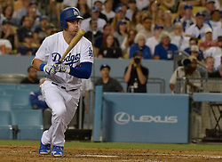 June 21, 2017 - Los Angeles, California, U.S. - Los Angeles Dodgers' Cody Bellinger during a Major League baseball game against the New York Mets at Dodger Stadium on Wednesday, June 21, 2017 in Los Angeles. Los Angeles. (Photo by Keith Birmingham, Pasadena Star-News/SCNG) (Credit Image: © San Gabriel Valley Tribune via ZUMA Wire)