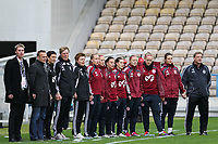 20111026 Barcelos: Portugal vs. Dinamarca, UEFA Women's Euro 2013 Qualifying, Group 7. In picture: Denmark reserves and staff. Photo: Pedro Benavente/Cityfiles