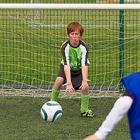 Paddy Haugh in goals during the FAI Eflow Summer Soccer School in Lisdoonvarna