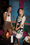 LUCY FOLK; TAMSIN JOHNSON, Gazelli host The Colbert Art Party last night at  LouLou's, The Bauer in Venice, Venice Biennale, Venice. 7 May 2015