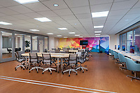 Interior image of the Inter American Development Bank Offices in Washington DC by Jeffrey Sauers of CPI Producions