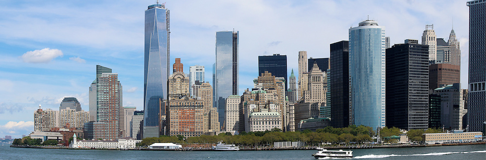 Lower Manhattan. New York City landmark