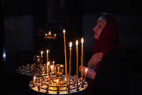 Georgie, Caucase, Tbilissi, vieille ville, église, cathedrale Sioni  // Georgia, Caucasus, Tbilisi, old city, Sioni Cathedral
