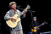 "Photos of guitarist Keller Williams performing at City Parks Foundation's SummerStage gala event, ""The Music of Jimi Hendrix"", at Rumsey Playfield in Central Park, NYC. June 5, 2012. Copyright © 2012 Matthew Eisman. All Rights Reserved."