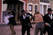 Mock gunfight on Allen St., Helldorado Days, Tombstone, Arizona. ©Edward McCain/McCain Creative, Inc. All Rights Reserved 520-623-1998